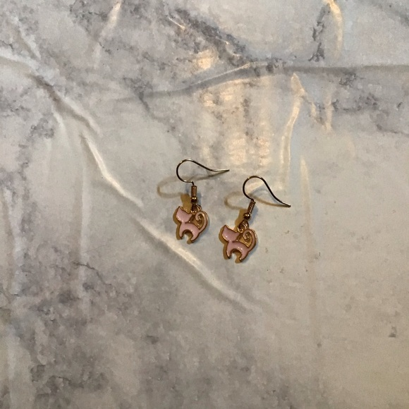 Hand Crafted Jewelry - CATS | Enamel Earrings Stainless Steel